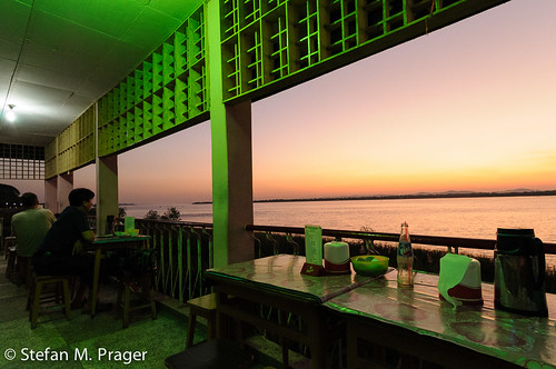 sunset southeastasia sonnenuntergang burma myanmar birma essenundtrinken moulmein speisen mawlamyaing mawlamyine südostasien flussthanlwin
