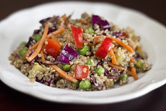 Asian Quinoa salad food