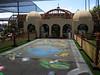 Replica Balboa Park botanical building