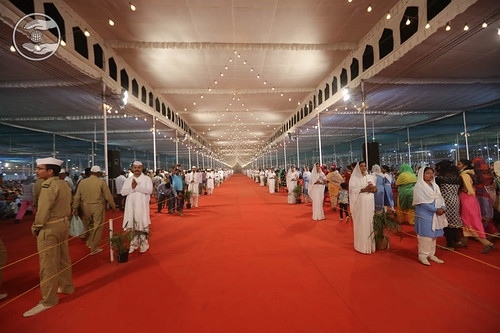 Center views of Satsang Pandal