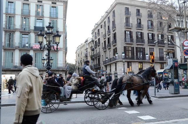 Les Rambles, Barcelona