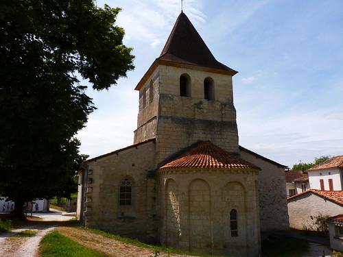 La collégiale Notre-Dame à Ribérac