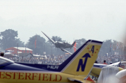 Supermarine Spitfire IX at the 1985 Bex Air Show (CH)