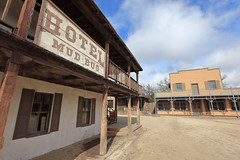 Paramount Ranch Western Town Movie Set