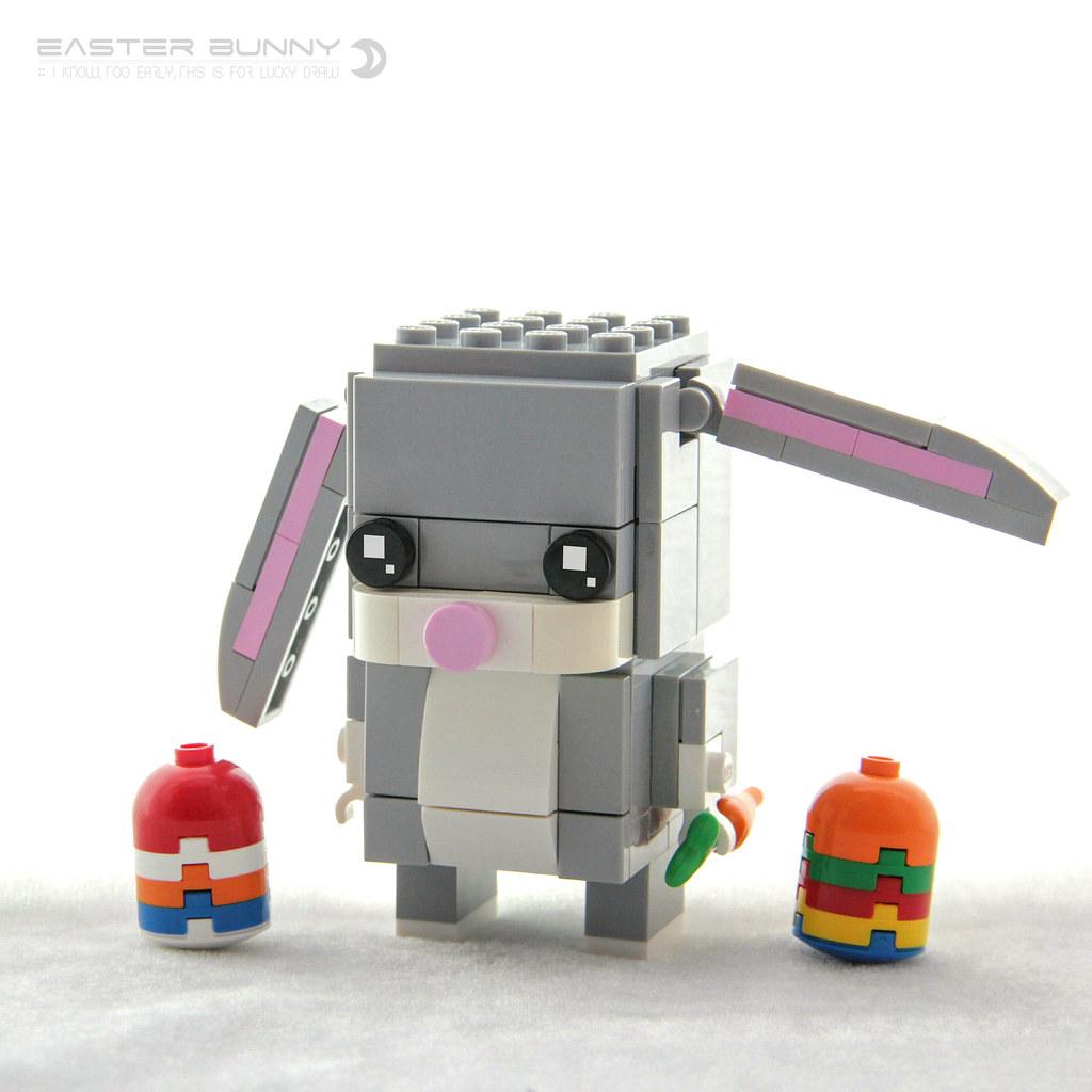 Easter Bunny (custom built Lego model)