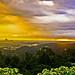 Bukit Daun Taba Penanjung at sunset by Adriansyah Putera