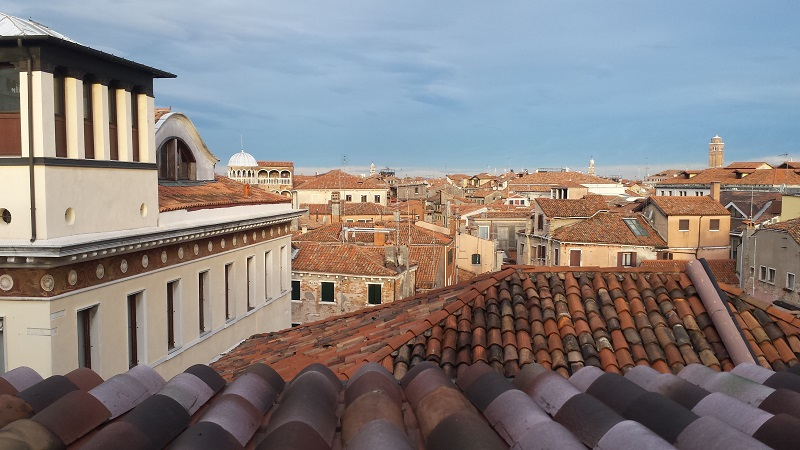 venice view from hotel