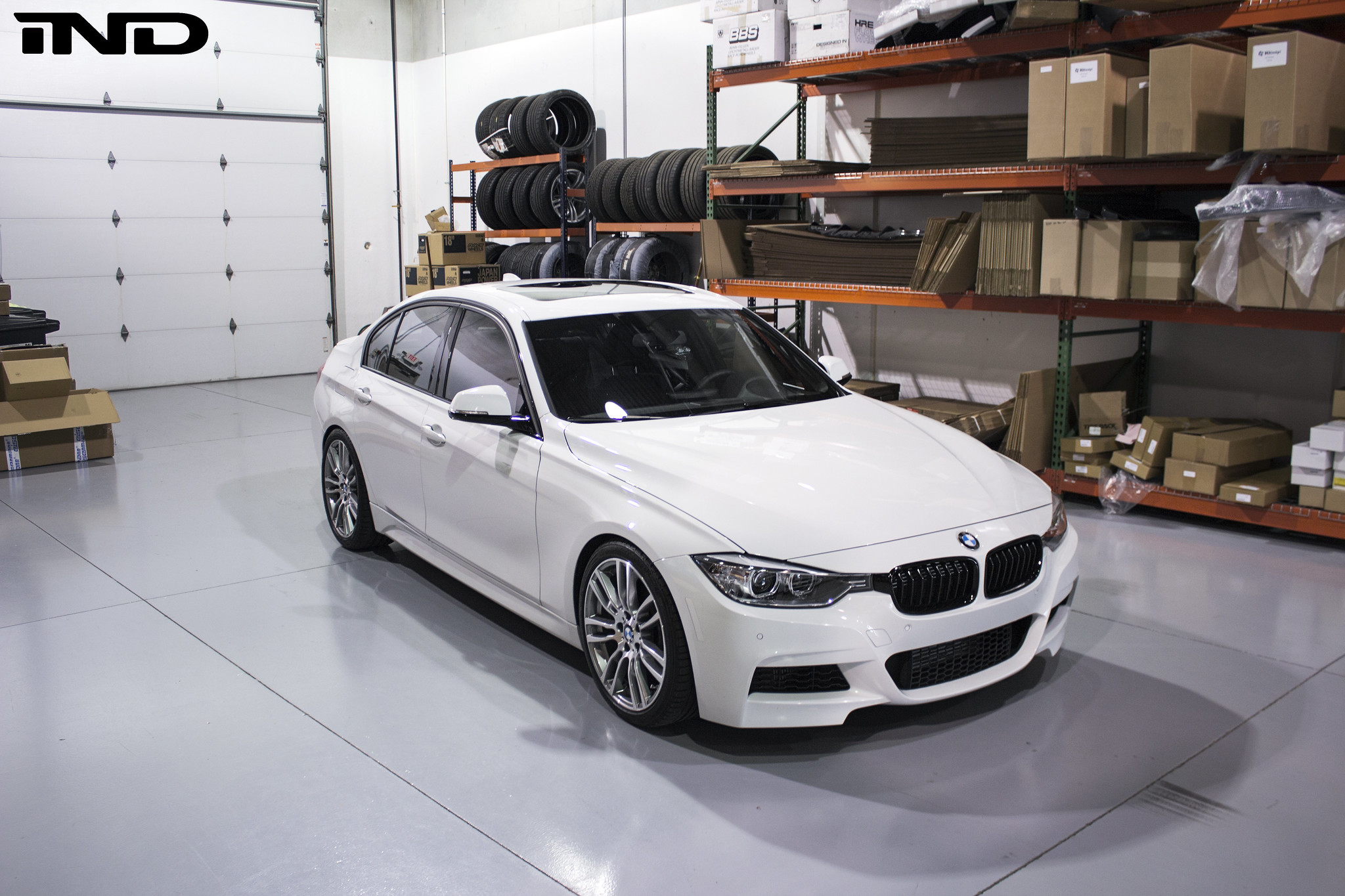 F30 335i M Sport Alpine White Lowered H Amp R Sport