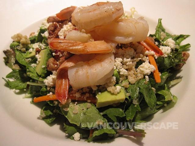 Earl's Prawn + Quinoa salad