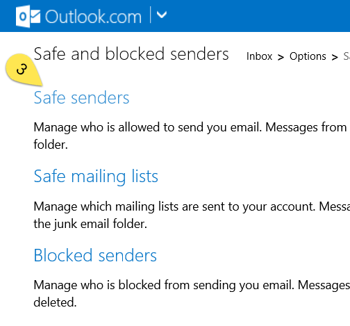Guest management issue: Microsoft Email Accounts (Hotmail, Live, MSN