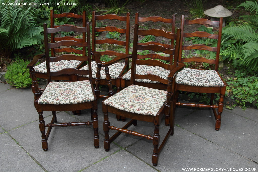 four dining chairs below can be found for sale in our ebay shop