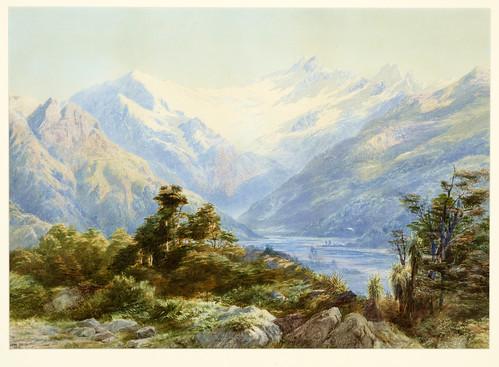 015- Monte Aspiring-Gully, John (artist), 1878-Museo Te PapaTongareva
