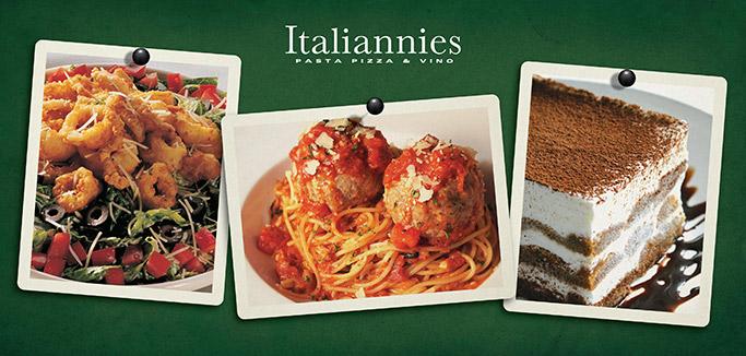 Calamari-Caesar_Spaghetti-and-Meatball_Tiramisu