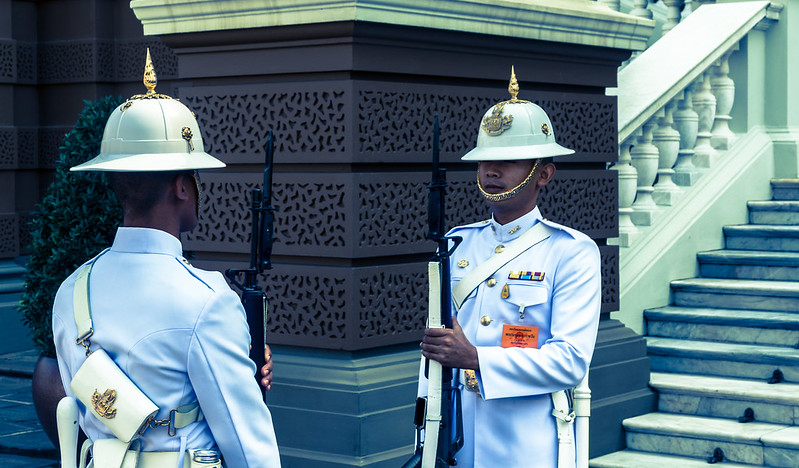 Changing of the Guard, Bangkok