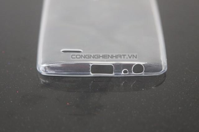 Ốp lưng LG G3 TPU, mỏng ,trong suốt