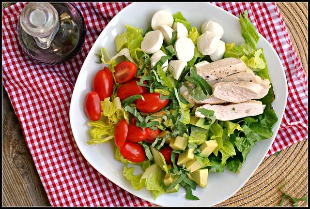 Caprese Avocado Salad 2