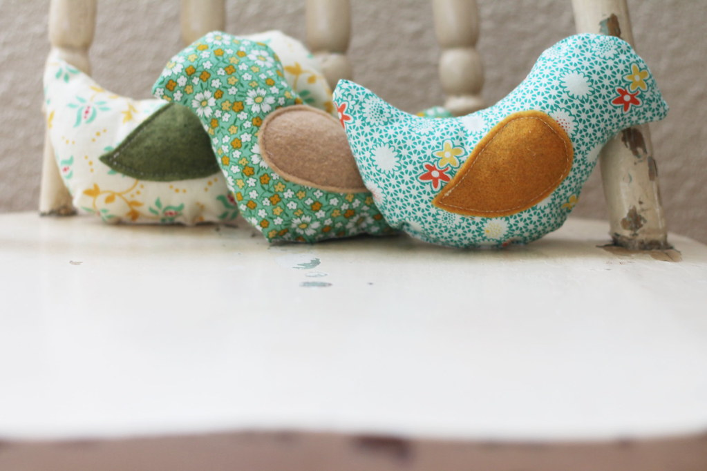 stuffed bird teether toys