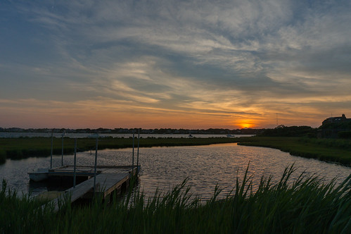 sunset summer water boat dock capecod sony ripples alpha falmouth greatpond nex6