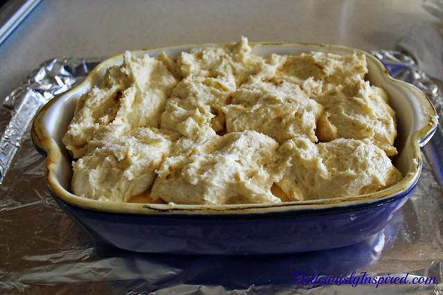 6-22-14-Peach Cobbler - Dough - Ready to Bake