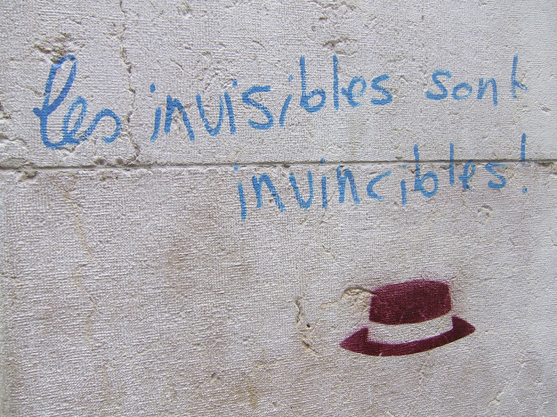 Les Invisibles Sont Invincibles Swiss Grafitti