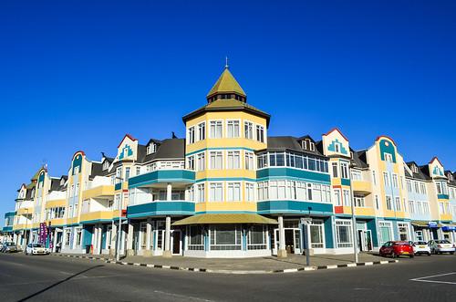 Swakopmund architecture, waterfront