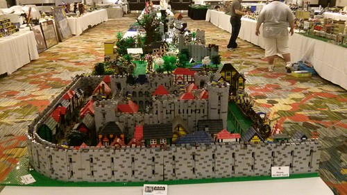 The castle layout at brickfete Toronto 2014
