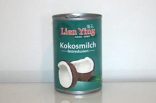 06 - Zutat Kokosmilch / Ingredient coconut milk
