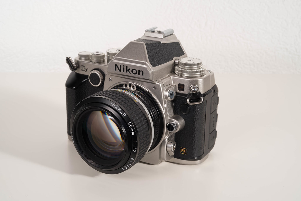Nikkor 50mm f/1.2 on a Nikon Df
