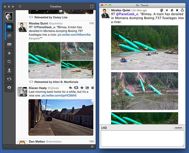 Tweetbot vs. Dr. Twoot multiple images