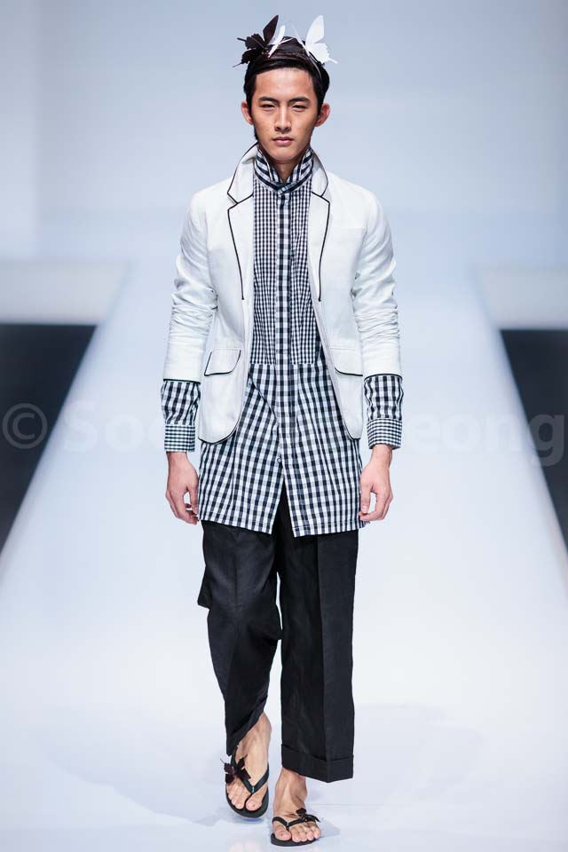 Eric Choong Freedom Collection - Kuala Lumpur Fashion Week 2014 (KLFW2014)