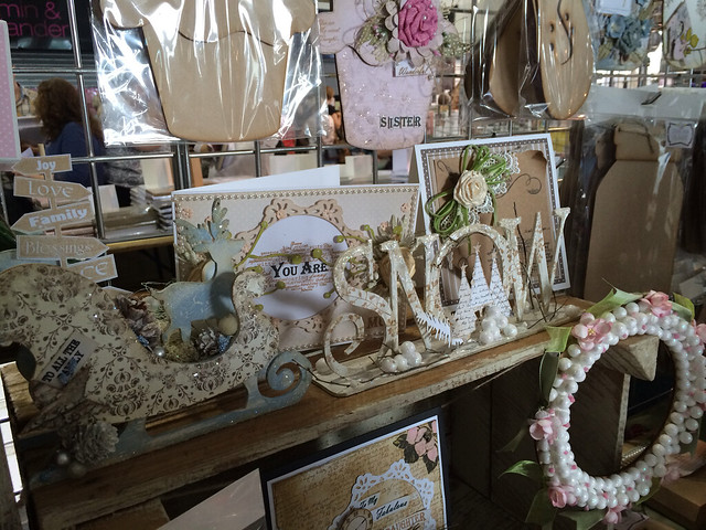 Anna Marie Designs - Newbury craft fair stall