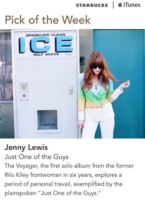 Starbucks iTunes Pick of the Week - Jenny Lewis - Just One of the Guys