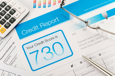 Credit report - discharged debt