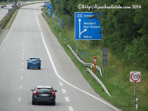 ©Fahrradtour nach Rodenbek Autobahnbrücke