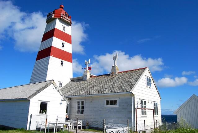 Alnes Lighthouse and café
