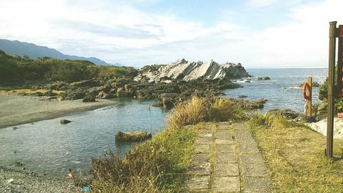 花蓮石梯坪-露營-石灰岩海岸 (8)