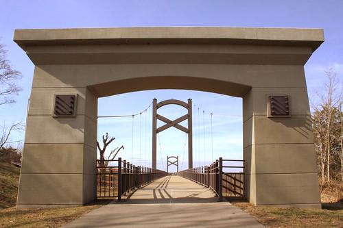 bridge tn nashville tennessee cumberlandriver nashvillegreenways bmok cumberlandriverpedestrianbridge bmok2