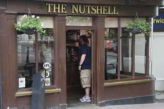 The Nutshell.  The smallest pub in Britain - Bury St Edmund - UK