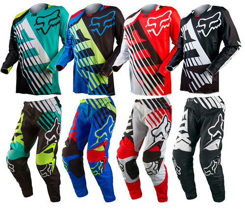 fox motocross gear: