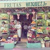 Fruits and vegetables fit for a king: this is where the royals buy their produce in Madrid. Talk about food culture!!! #produce #spain #madrid #vegetables #shop