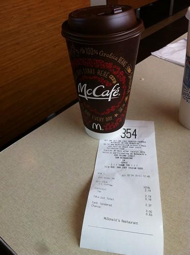 Estados Unidos | California | San Bernardino | McDonald's | Café