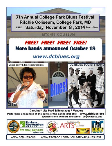 Save-the-Date for the College Park Blues Festival!