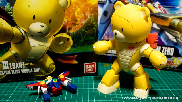 HGBF Beargguy III [San] - Completed Build