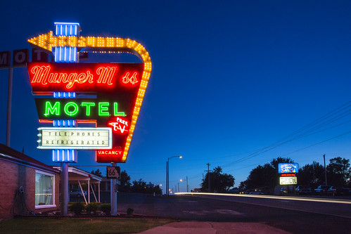 """""""Munger Moss"""" Motel sign Missouri """"Leclede County Missouri"""" """"Route 66"""" """"Route 66 Missouri"""" signs neon """"Neon Sign"""" """"vingtage sign"""" vintage """"old route 66"""" """"Lebanon Missouri"""" Lebanon Notley """"Notley Hawkins"""" 10thavenue http://www.notleyhawkins.com/ """"Missouri Photography"""" """"Notley Hawkins Photography"""" """"Rural Photography"""" 2014 July Midwest """"Rural USA"""" evening """"blue hour"""" night nocturne """"long exposure"""" """"The Blue Hour"""""""