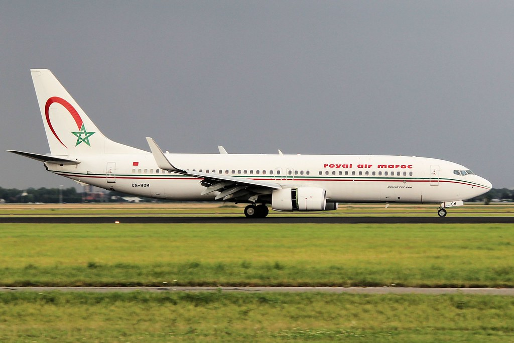 CN-RGM - B738 - Royal Air Maroc