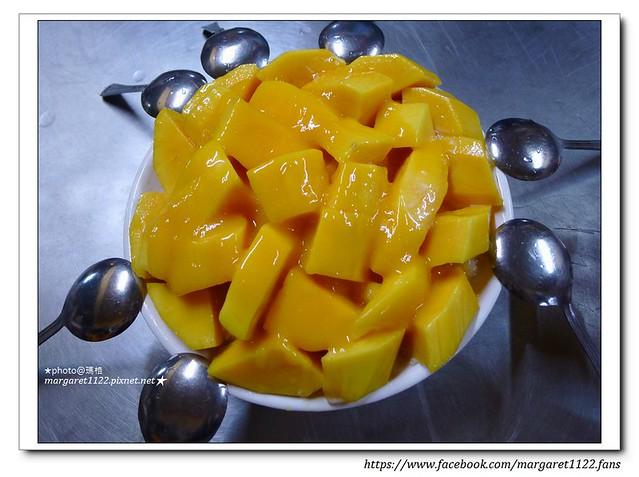 【台南】冰鄉芒果牛奶冰。卓家汕頭魚麵