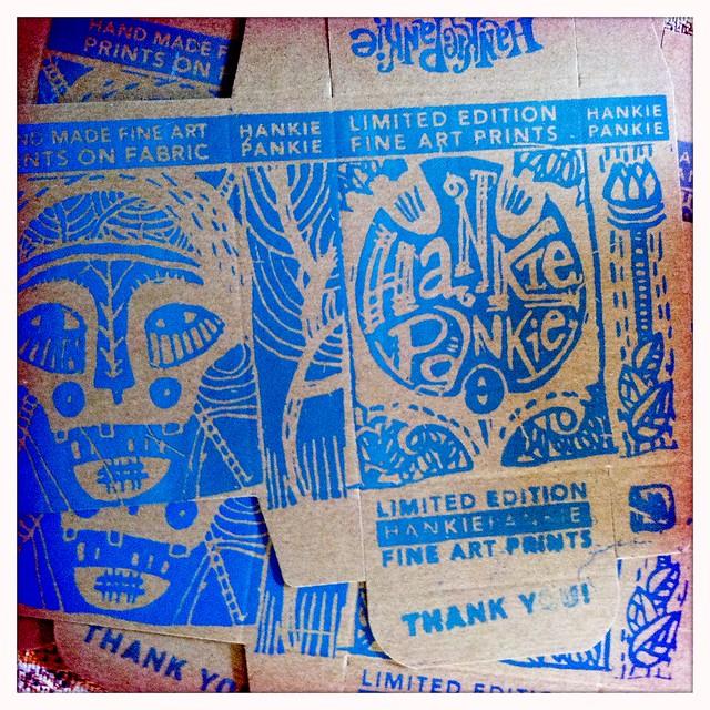 printing hankie boxes