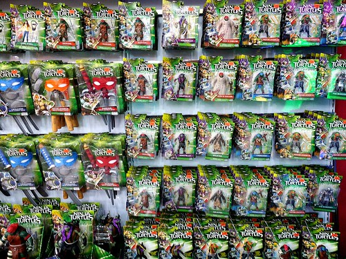 Playmates' Ninja Turtles hittin' Malaysian retail shelves...