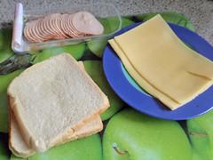 Zutaten für das Toastbrotrezept