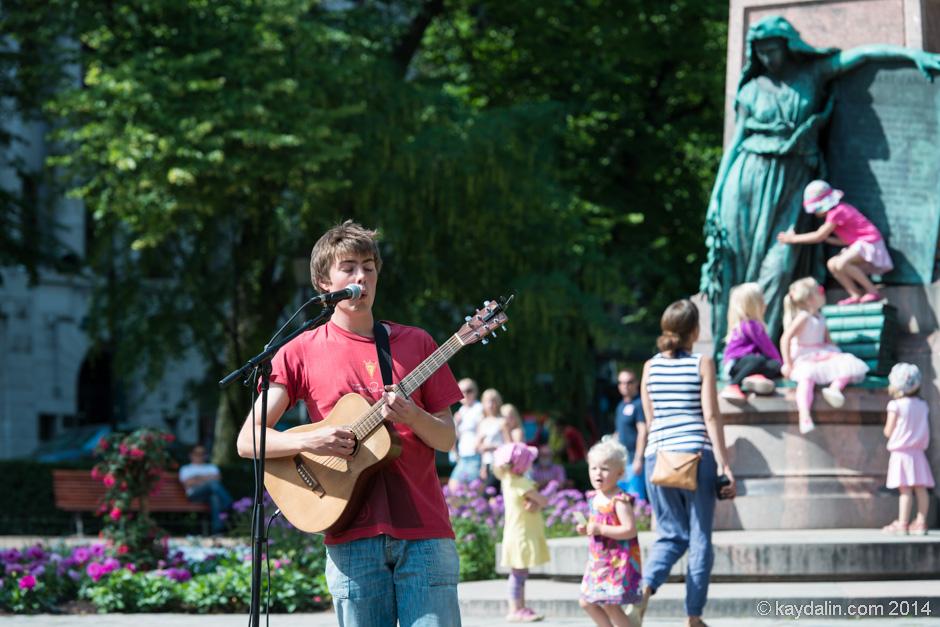 бульвар Эспланада Helsinki